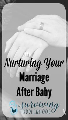 Nurturing Your Marriage after Baby Is Born. This is important for all marriages, but even more so for Christian marriages. Our marriage relationship, even in the postpartum weeks, is to represent the gospel of Christ to the world, to do that we must fight to nurture our marriage in a time when the world says Dad's needs don't matter. Nurture and protect your marriage after baby.