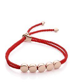 MONICA VINADER Linear Bead Friendship Bracelet. #monicavinader #