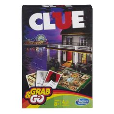 Hasbro Grab & Go gaming Cluedo New Detective, Cluedo, Clue Games, Go Game, Boggle, Family Board Games, Gaming, Fun Games For Kids, Kid Games