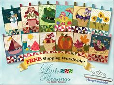 Little Blessings Wallhanging Club - FREE SHIPPING