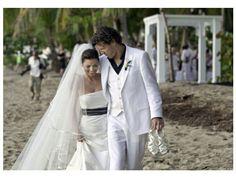 Casamento na praia de Shania Twain