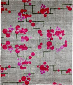 Tulip Hand Knotted Tibetan Signature Rug by Christopher Fareed | glr_FareedTibetan409