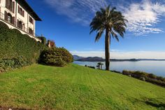 Gracious villa with pool sitting very proudly on a hilltop in Pallanza with panoramic views on Lake Maggiore Lake Villa, Holiday Rentals, Northern Italy, Luxury Villa, Vacation, Mansions, House Styles, Graz, Luxury Condo