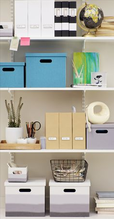 Maximize your efficiency and minimize where-the-heck-is-that-stapler stress with these storage and organizational answers you're looking for.