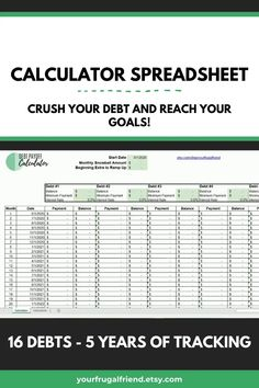 Debt Snowball Spreadsheet, Debt Snowball Calculator, Debt Snowball Worksheet, Finance Tracker, Finance Jobs, Expense Tracker, Budgeting Finances, Budgeting Tips, Microsoft Excel
