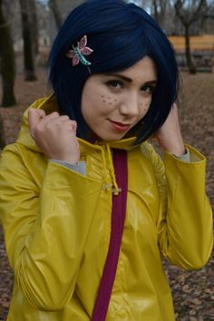 Coraline Halloween costume. Great movie.