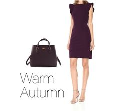 How to Wear Purple Warm Autumn Source by marijakrstikesk Fall outfits autumn Fall Wardrobe, Capsule Wardrobe, Warm Fall Outfits, Wearing Purple, Seasonal Color Analysis, Professional Wear, Athleisure Wear, Aged To Perfection, Warm Autumn