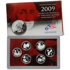 1963 5 Piece Mint Birthday Year Set Great Gift in Holder