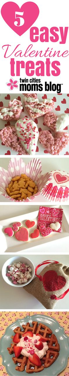 Five Easy Valentine Treats to make that special day simple for Mom! | Twin Cities Moms Blog