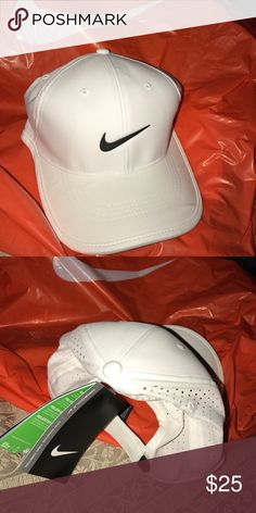 Nike Hat This Nike dri fit hat is Clean white pulls away sweat to help keep u dri. Back and that adjusts Nike Accessories Hats
