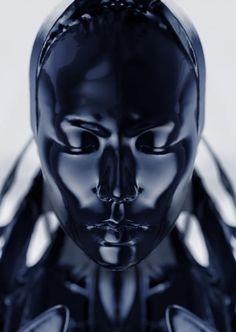 decoding the color of light · · Tim Richardson on the Futuristic Duality of 'Spiritual Machine' Design Set, Tao Okamoto, Latex Hood, Dark Beauty, Photoshop Tutorial, Cyberpunk, Art Inspo, Futuristic, Character Art