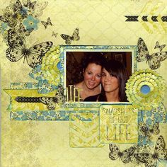 Layout: Snapshots of Our Life Scrapbook Journal, My Scrapbook, Scrapbook Examples, Happy Mom, Scrapbooking Layouts, Mini Albums, Paper Crafts, Creative, Artwork
