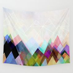 Graphic 104 Wall Tapestry CHEAP! FROM SOCIETY 6