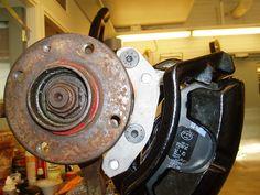 VWVortex.com - Anyone wanna share some G60 brake conversion trix?