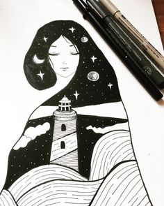 Are you the lighthouse? Or the storm? I guess I'll never know.