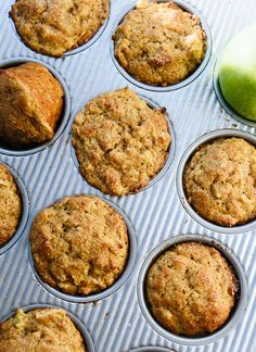 Healthy Apple Muffins is part of Apple muffin recipes - Amazing, healthy apple muffins made with maple syrup and whole wheat flour! No one will guess that this simple cinnamon apple muffin recipe is good for you, too Recipe yields 12 muffins Healthy Baking, Healthy Desserts, Healthy Recipes, Apple Recipes Healthy Clean Eating, Eating Healthy, Healthy Food, Cookie Recipes, Dessert Recipes, Baking Muffins