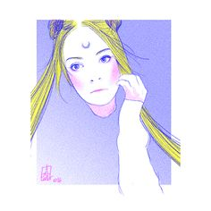 catamariii / self portrait as sailor moon
