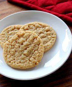 Dough Puncher: Honey Peanut Butter Cookies