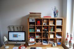 Great solution for all that small stuff usually on your desk or in drawers. #storage #organising #clutter #office