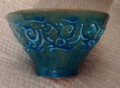 El barro y yo: Buscando turquesas (1187ºC - ∆4) (Esmaltes de media temperatura) Planter Pots, Clay, Pottery, Copper, Enamels, White Clay, Turquoise, Mud, Searching