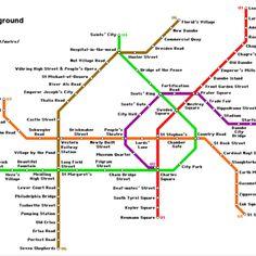Vienna underground, German into English :D