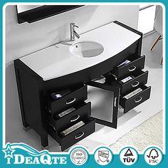 Cheap Wooden Waterproof China Made Bathroom Cabinet - Buy Bathroom ...