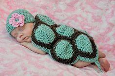 Newborn Turtle Crochet Turtle Baby Hats Baby Turtle by alanemarie b03afeaa1801