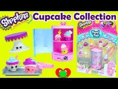 Shopkins Cupcake Collection Playset for Season 3 Food Fair - YouTube