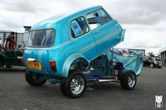 Hot Rod Mini with a V4 in it !