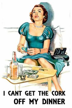 vintage housewife
