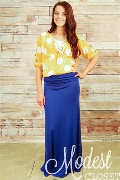 b3aeff19f Solid Maxi Skirt Maxi Skirt Outfits, Maxi Skirts, Modest Outfits, Modest  Fashion,