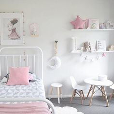 Girls Room Ideas: 40 Great Ways to Decorate a Young Girl's Bedroom 20-1