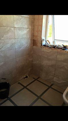 Tiling commencing!