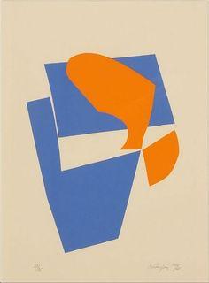 Danish-born artist Richard Mortensen (1910-1993). #Dansk #Kunst #Danish #Art