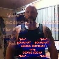 GEORGE JOHNSON... FAKE.. USING THE STOLEN PICTURES OF GEORGE COZMA https://www.facebook.com/thefightbackstartshere/posts/408176332886643