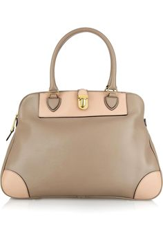 c601e02d25 Marc Jacobs Manhattan Tribeca two-tone leather tote