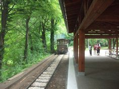 Narrow gauge forest train's leaving Lillafured station to Miskolc