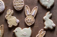 These cute and ridiculously tasty Dairy Free Easter Cookies substitute Coconut oil for butter and make the perfect treat for anyone that is lactose intolerant | The Hedgecombers