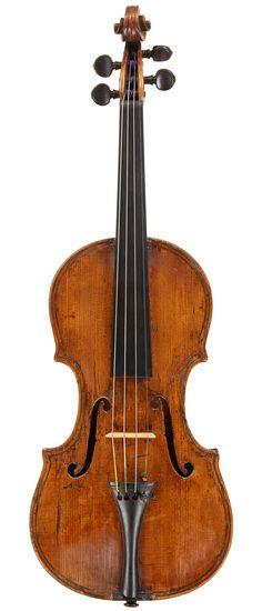 Fleur de lis inlay by g p maggini violin making - Volpino piccolo ...