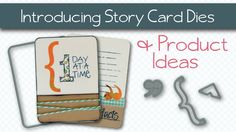 Introducing the Technique Tuesday Story Card Steel Dies + Project Ideas,...