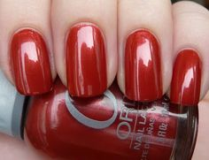 a fall burnt red/orange, Orly Ginger Lily