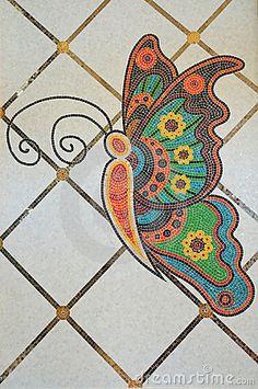mariposas en madera pintadas - Buscar con Google