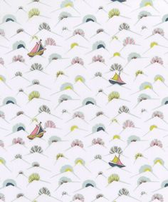Liberty Art Fabrics My Ship Tana Lawn Cotton from The Garden of Dreams Collection | Liberty.co.uk