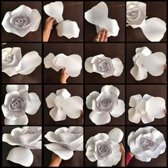 Hey guys I just finished making my paper flower rose tutorial using my LARGE Rose center then with my new template #155 I only had a half…