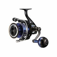 Daiwa SALTIGA6500H Saltwater Spinning Fishing Reel, 25-30 lb, Blue