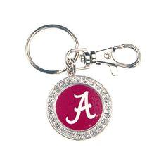 Key Fob Round University of Alabama