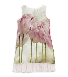 Monnalisa Tulip Print Dress | Harrods