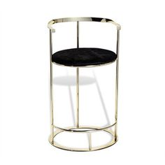 Hayes Barstool in Hide design by Interlude Home