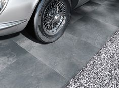 Low-maintenance Bolzano Graphite paving from PrimaPorcelain will transform the look of your outdoor space with its sophisticated look. Paving Slabs, Graphite, Outdoor, Color, Design, Collection, Garage, Graffiti, Outdoors