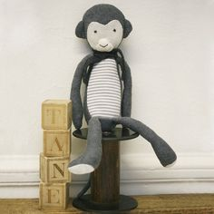 $43 Luxurious Organic Infant and Baby Clothing: handmade toys : Cheeky Monkey SS'13 collection #taneorganics
